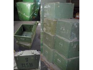 Original Transportkiste Munitionskiste Holz aus Armeebeständen