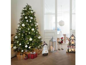 Deko - Weihnachtspaletten mit LED
