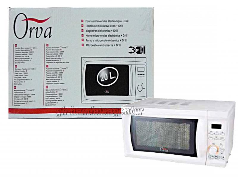 russel hobbs orva mikrowelle weiss lagerverkauf cottbus. Black Bedroom Furniture Sets. Home Design Ideas