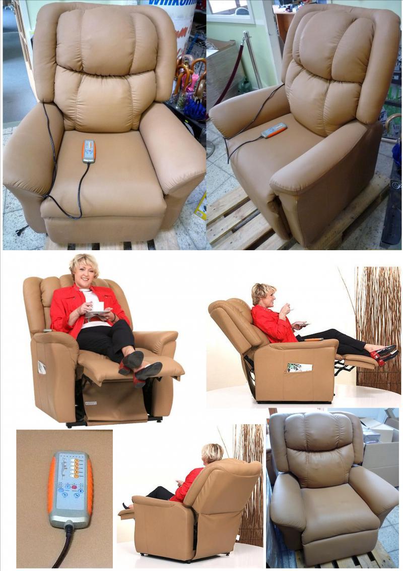 sonderposten relaxsessel mit aufstehhilfe. Black Bedroom Furniture Sets. Home Design Ideas